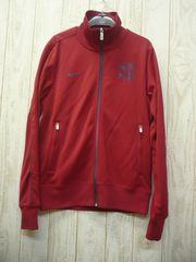 即決☆ナイキ 特価 バルセロナ N98ジャケット RED/L ジャージ