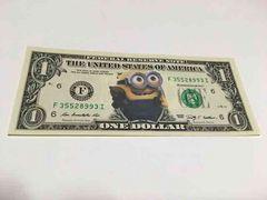 ミニオンズ 本物ドル紙幣
