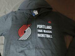 Majestic製 【Portland Trail Blazers】フルジップパーカーUS S