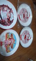 ペコちゃんのお皿 4枚   4