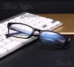 スクエア メガネ ブルーライトカット 伊達眼鏡 PC用メガネ 黒