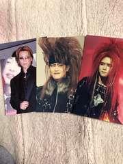 XJAPANの写真.YOSHIKI.hide.TOSHIのセット