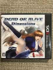 デッドオアアライブ ディメンションズ 3DS