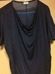 ドレープtシャツ^_^  Mサイズ。