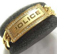 ●本物確実正規極美 POLICE ポリスメンズ ブレス