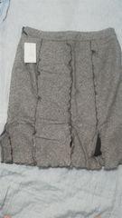 激安特価セール未使用新品ブラウンデザインスカート タグ付き