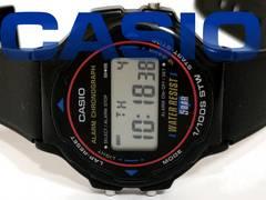 良品 CASIO【ヴィンテージ】デジタル 90's アラームクロノ腕時計