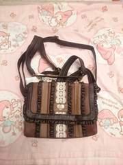 Ank Rouge☆チョコレートカラーbag