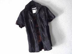 セール★皺加工ムラ染めシャツ+リブタンクsetup