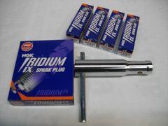 (2A)CBR400FCBX550FNGKイリジウムプラグセット