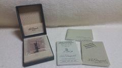 S.Tデュポン ライン1/ゴールド 布箱入りメンテ済正規品