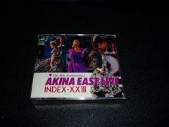 CD「中森明菜/イーストライヴ インデックス23」2枚組 限定金盤