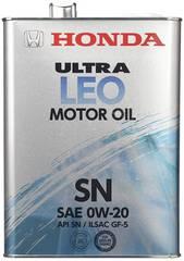 Honda エンジンオイル ウルトラ LEO SN/GF-5 0W20 4L