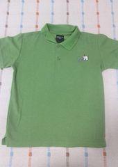美品♪コムサ♪緑ポロシャツ♪130�p
