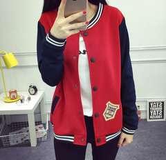 大きいサイズ☆カジュアルジャケット赤5XL