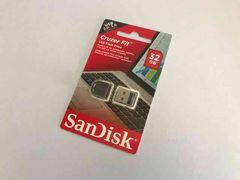 32GB USBメモリ Sandisk miniタイプ新品