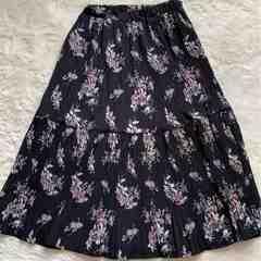 花柄 サラサラスカート  Sサイズ