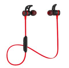 Bluetooth4.1 スポーツ ワイヤレス防水防滴赤黒