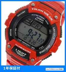 新品 ■カシオ デジタル 腕時計 W-S220C-4AV レッド★即買い