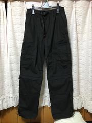 100スタ ★CONVERCE メンズ ブラック パンツ ハーフパンツ L