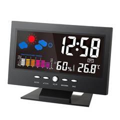 【大人気♪】カラーディスプレイ デジタル温度湿度計 LCD♪