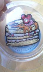 エンブレムステッカーミッキーホットケーキ