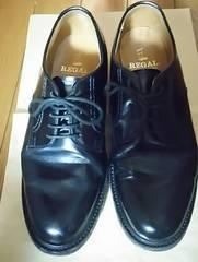 REGAL☆男性用革靴黒☆23.5�p
