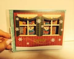 ダッフィー&シェリーメイ グリーティングカード クリスマス