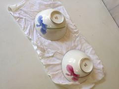 香蘭社 食器 夫婦茶碗 陶器