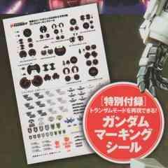 ○トランザムモード マーキングシール2枚(ガンダムOO)