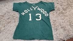 ★デニム&ダンガリー★緑半袖Tシャツ★サイズ110★