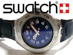 良品 1スタ★Swatch Irony スウォッチ レアな大型・重厚な腕時計