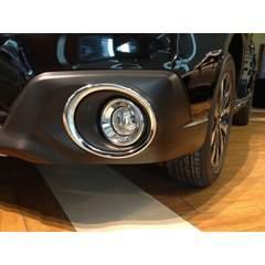 スバル レガシィ アウトバック BS9(2014年10月〜) クロームメッキ フォグライトリング