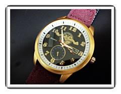 定形外ok★新品★ゴールドカラー・ミリタリーウォッチ 腕時計bl
