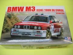 アオシマ BEEMAX No.18 1/24 BMW M3 E30 '89ツール・ド・コルスラリー仕様