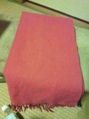 送料無料 Vignyのローズピンクのマフラー