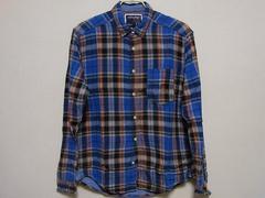 即決!USA古着●JACK&JONESチェックデザインネルシャツ!アメカジ