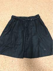 バーバリーブルーレーベル、スカート、ブラック