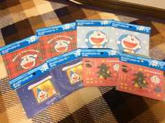 新品未使用サントリー×ドラえもんポップアップクリスマスカード