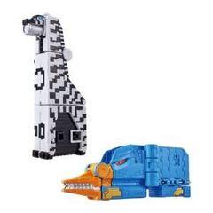 ジュウオウキューブウエポンEX動物武装キューブシマウマ&キューブカモノハシセット