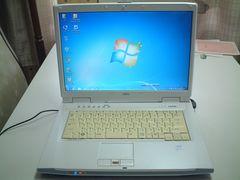 すぐ使える Windows7 ワイド マルチ 無線 NF70Y 2G/120G