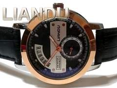 新品 LIANDU【スモールセコンド】上品で美しいメンズ腕時計