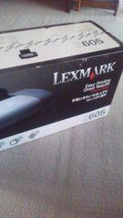 超激安LEXMARK Z605カラープリンター新品未開封