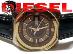 レア品 1スタ★DIESEL ディーゼル 新品ベルト GOLD 腕時計