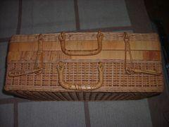 籐のバッグ used