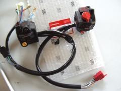 (55)CBX400FCBX550F用左右ハンドルスイッチ新品H1