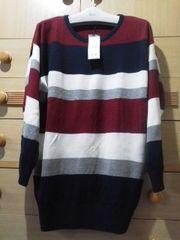 イングおしりが隠れる丈長セーター新品タグ付/送料250円
