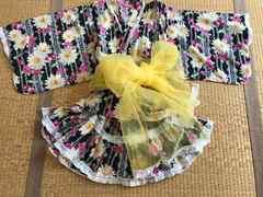 美品★浴衣 ドレス セパレートタイプ 150