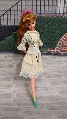 ジェニーちゃんバービー、リカちゃんのスカート
