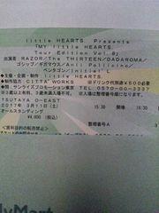 3/11 O-EAST/RAZOR/DADAROMA/ペンタゴン 先行チケA30番台